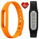 Xiaomi Mi Band Pulse Black + Mi Band Strap Orange