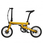 MiJia QiCycle Folding Electric Bike Yellow