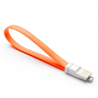 Xiaomi Qingmi Micro USB Fast Charging Cable 20cm Orange
