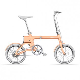 Yunbike UMA Mini Pro Foldable Bicycle Orange