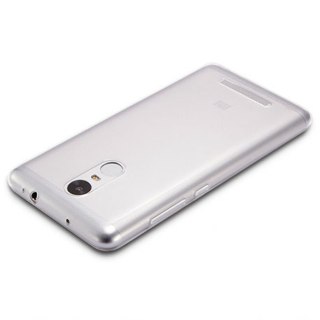 Xiaomi Redmi Note 3 Silicone Protective Case Transparent White