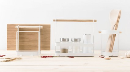 Xiaomi Released a Simple Kitchen Shelves Kitchen Organizer