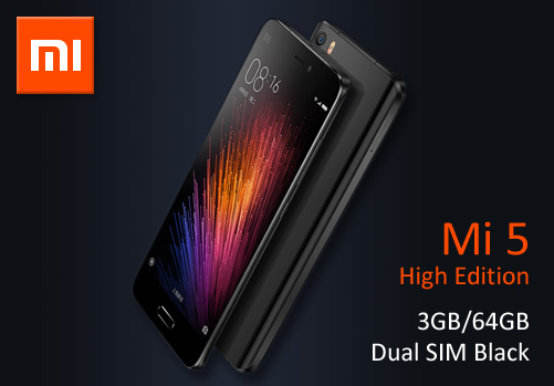 Mi 5 High Edition 3GB/64GB Dual SIM Black