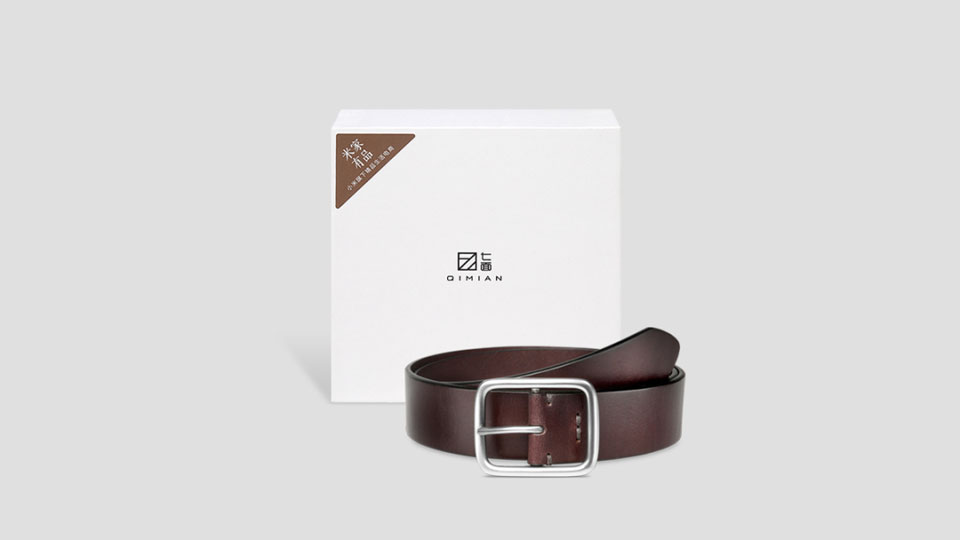 QIMIAN BELT packaging